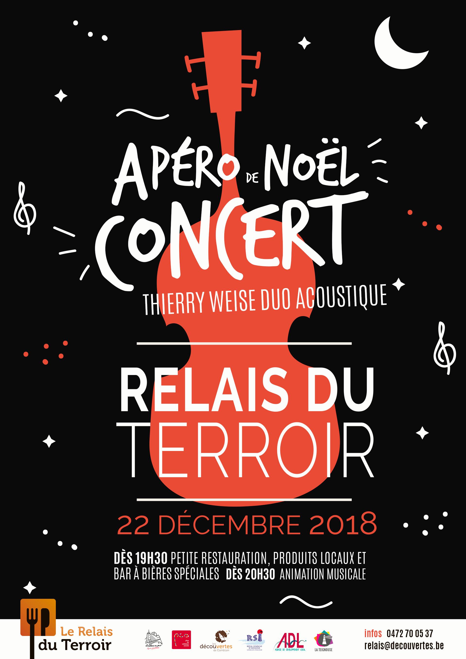 Apéro de Noël au Relais du Terroir