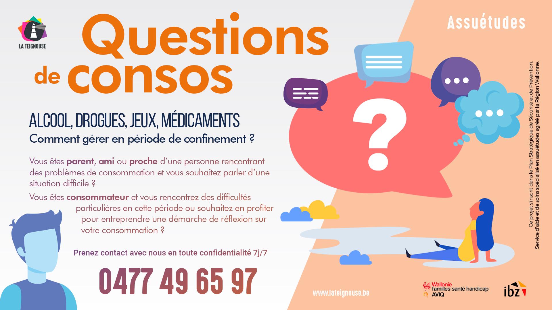Assuétudes : un numéro pour répondre à vos questions